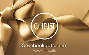 CHRIST gift cards and vouchers